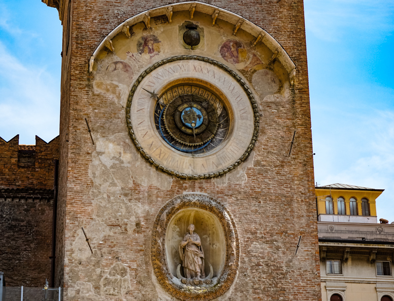 Clock Tower Mantua Italy