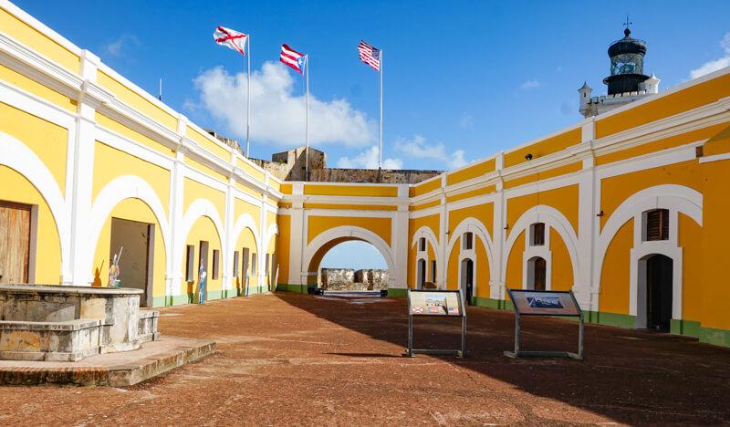 El Morro in San Juan Puerto Rico