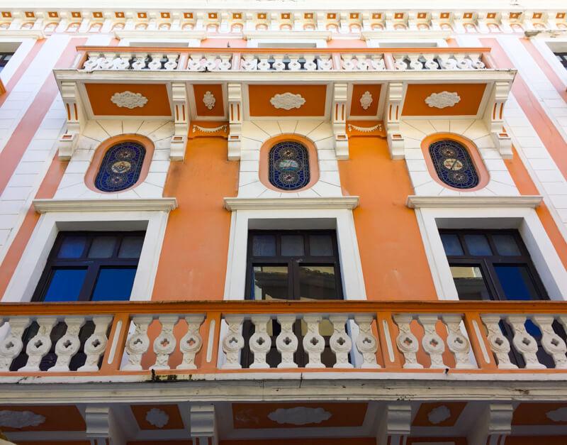 Facade Old San Juan PR