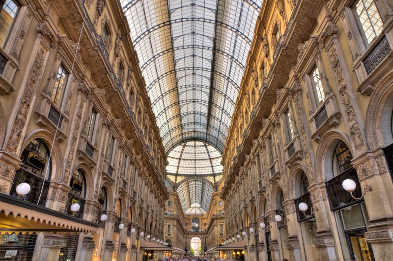Galleria Vittorio Emanuele in Milano, Italy