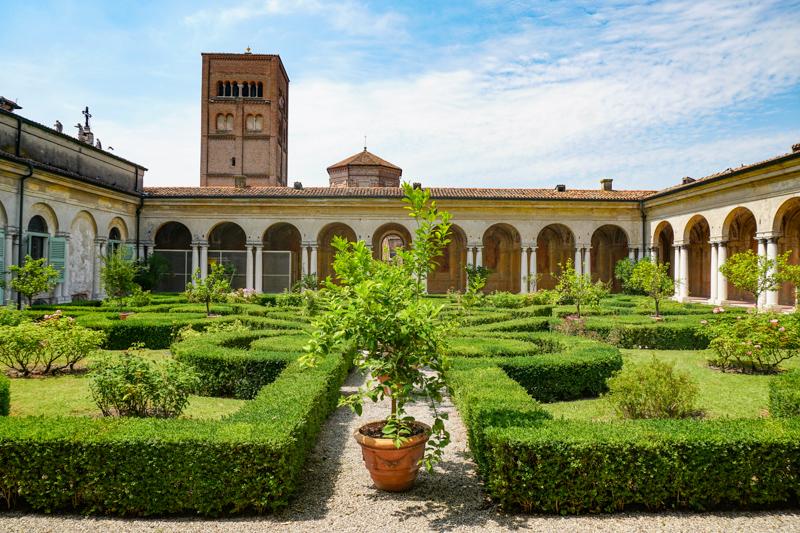 Gardens Palazzo Ducale Mantova Italy