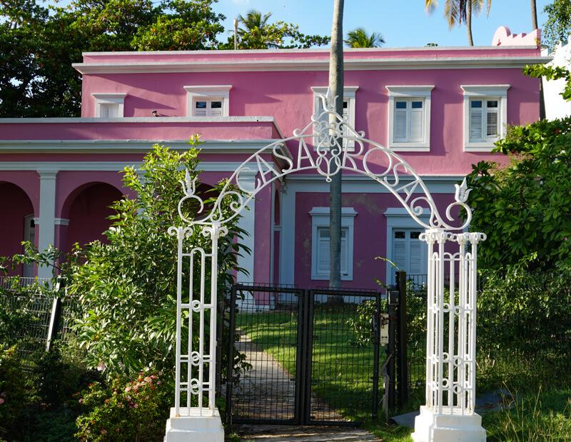 Gate to Casa Rosa Old San Juan Puerto Rico