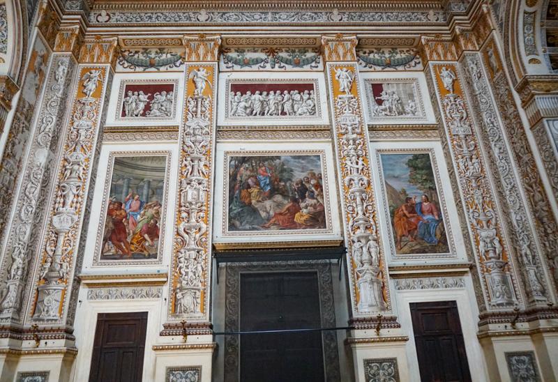 Inside the Basilica di Sant'Andrea Mantua Italy