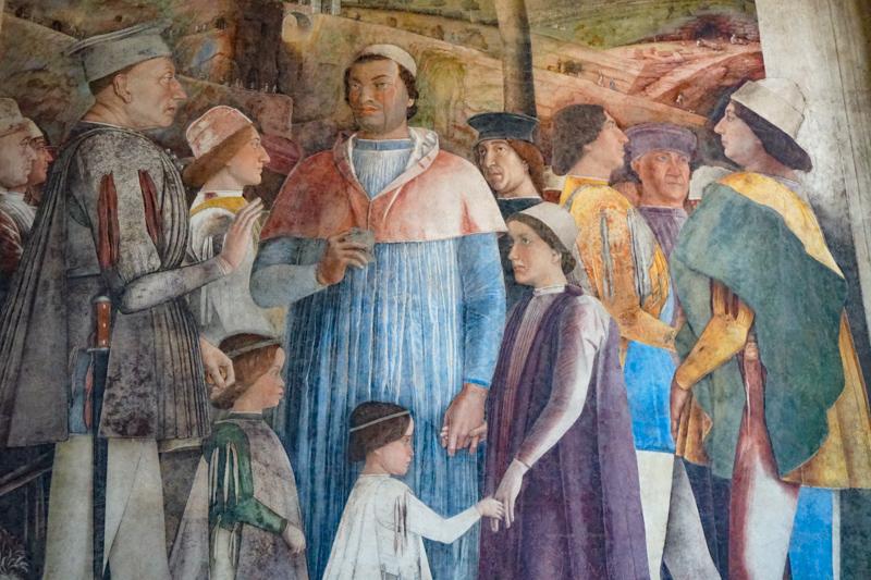 Mantegna's Frescoes Mantua Italy