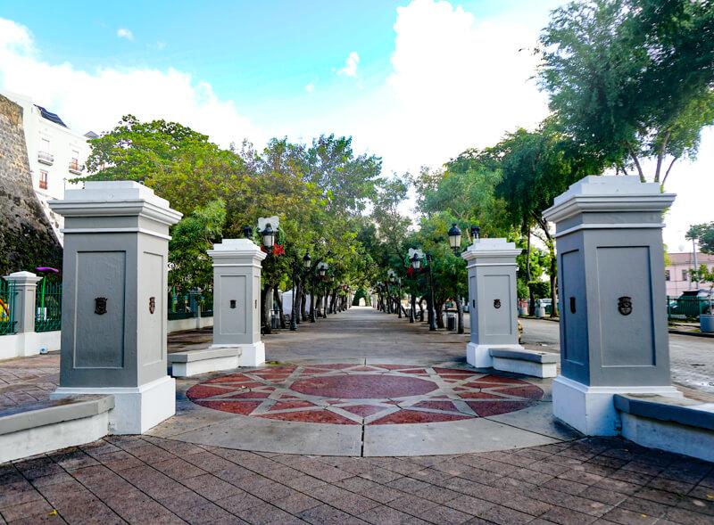 Paseo de la Princesa Old San Juan PR