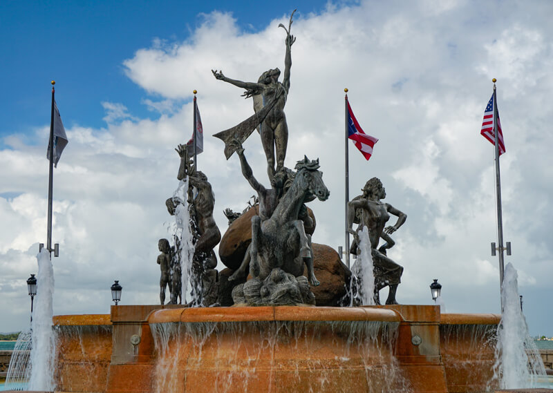 Raices Fountain San Juan PR