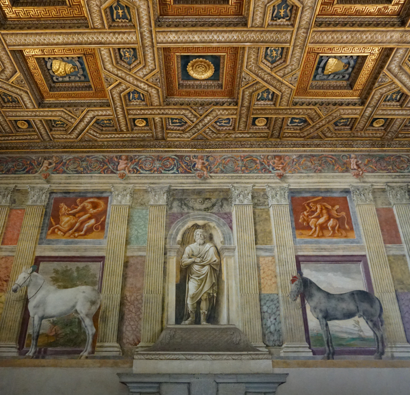 Room of the Horses Palazzo Te Mantua Italy