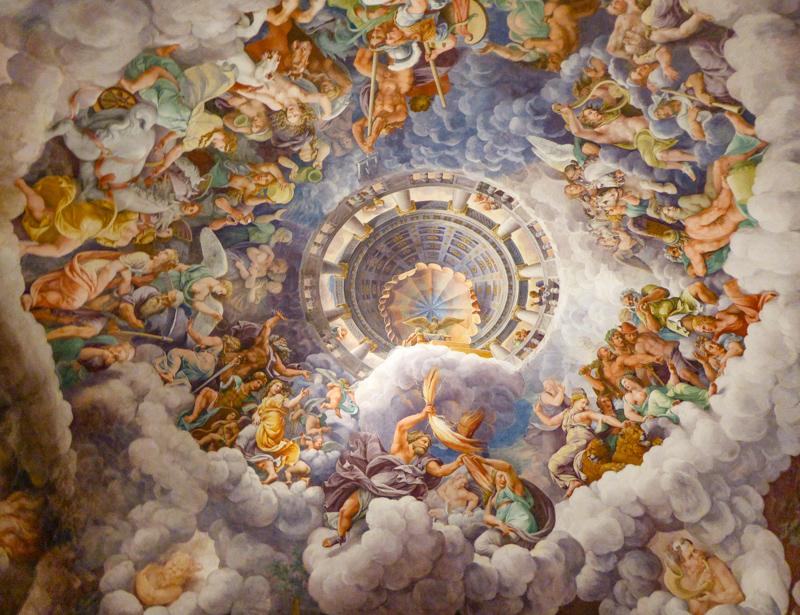 Sala di Gigante Palazzo Te Mantova Italy