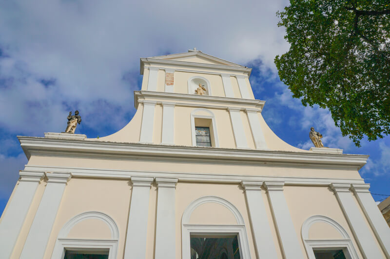 San Juan Cathedral in Puerto Rico