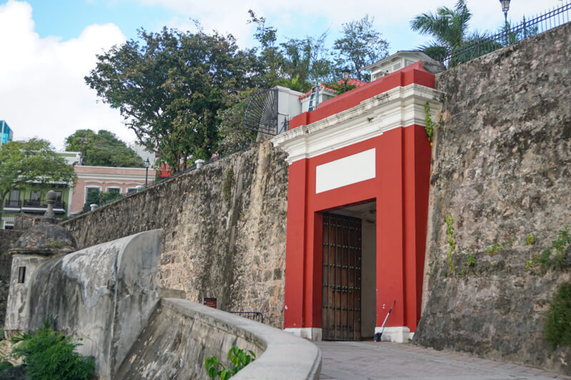 San Juan Gate Old San Juan Puerto Rico