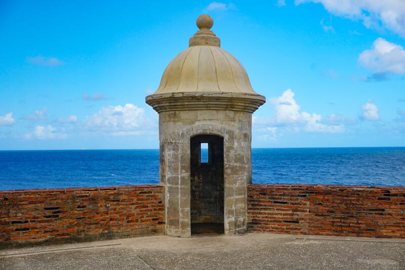 Sentry Box Castillo San Cristobal San Juan Puerto Rico