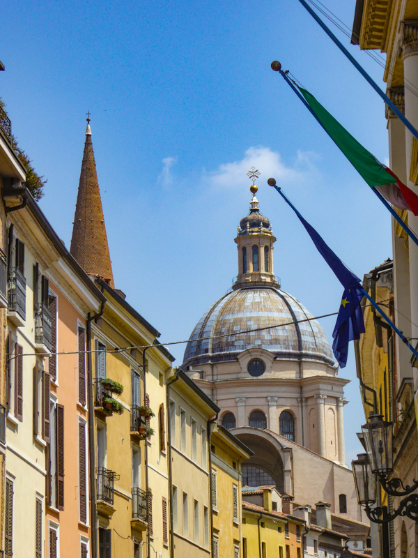 Street Mantua Italy