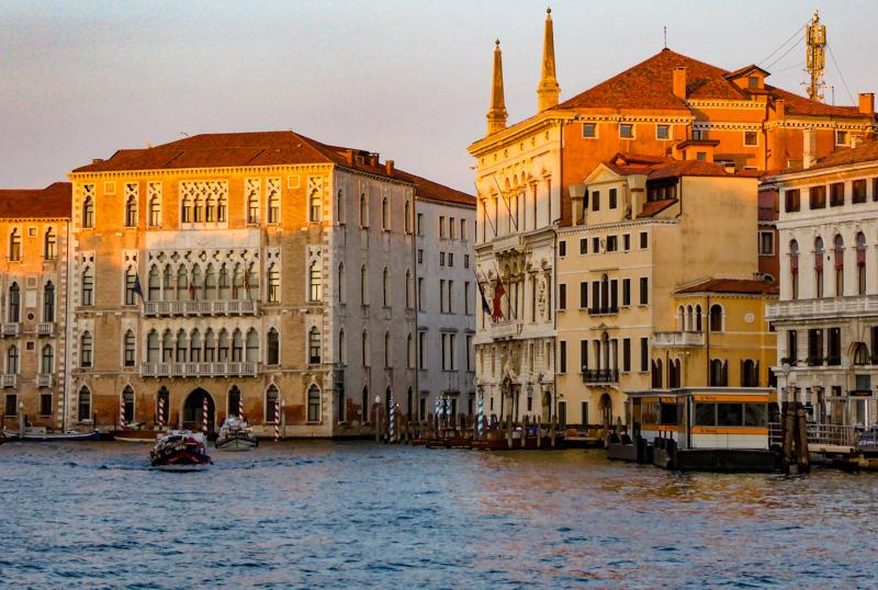 Sunrise Grand Canal Venice Italy