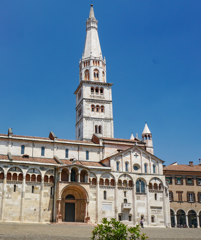 The Cathedral in Modena Italy