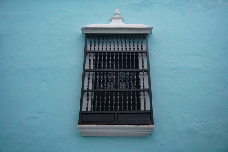Window Old San Juan Puerto Rico
