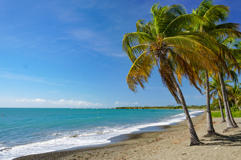 A Beach on the Southern Coast of Puerto Rico