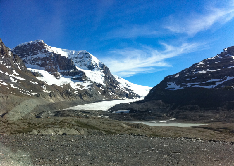 Athabasca Glacier Icefields Parkway Canada