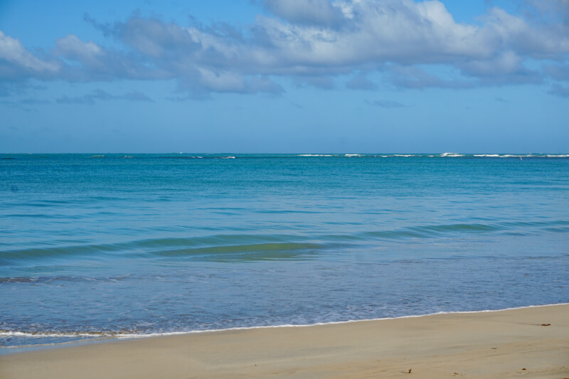 Beautiful Luquillo Beach Puerto Rico