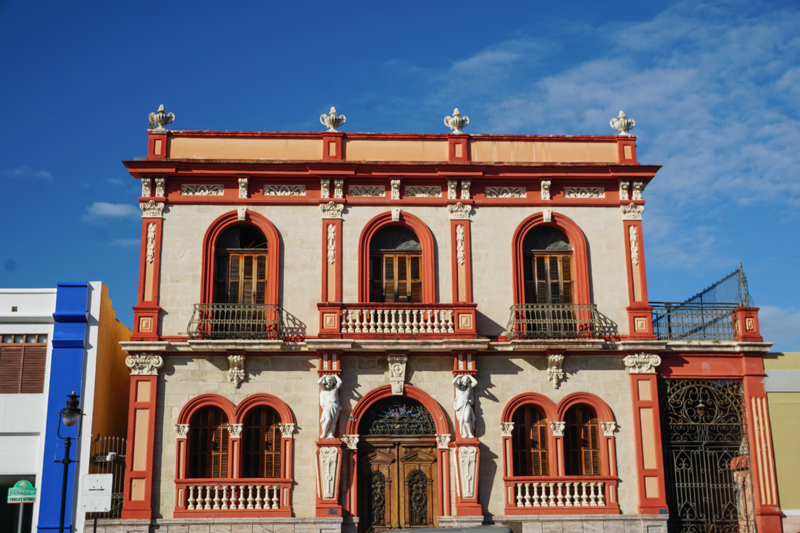 Beautiful building in Ponce Puerto Rico