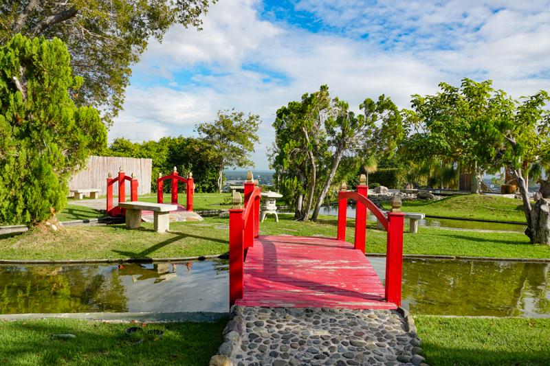 Bridge at Japanese Garden Ponce Puerto Rico