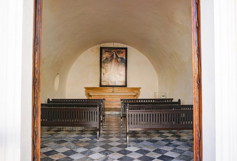 Chapel El Morro Old San Juan Puerto Rico