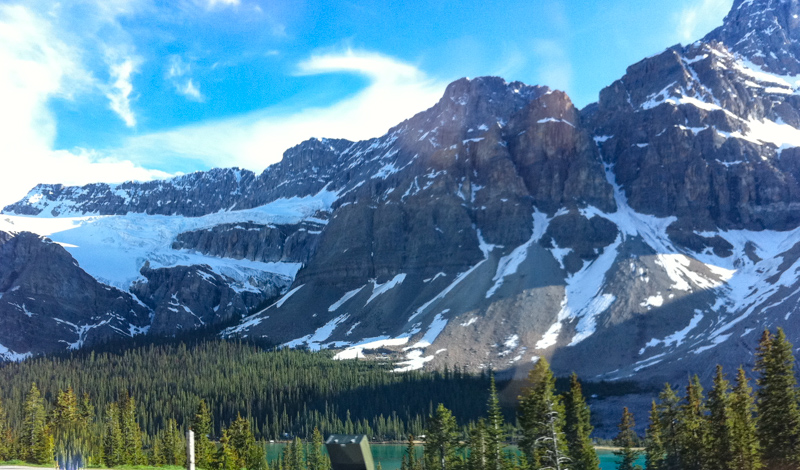 Crowfoot Glacier Icefields Parkway Banff Canada