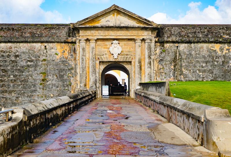 El Morro Entrance San Juan Puerto Rico