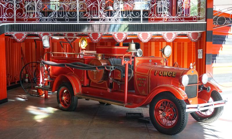 Fire Engine Parque de Bombas Ponce PR