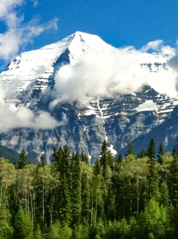 Mt. Robson in Canada