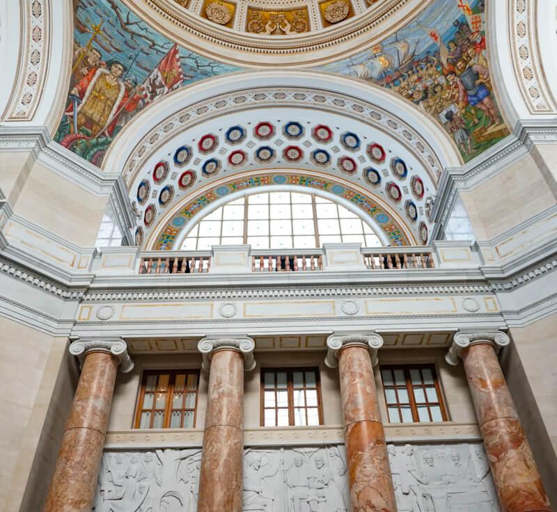 Murals Puerto Rican Capitol San Juan