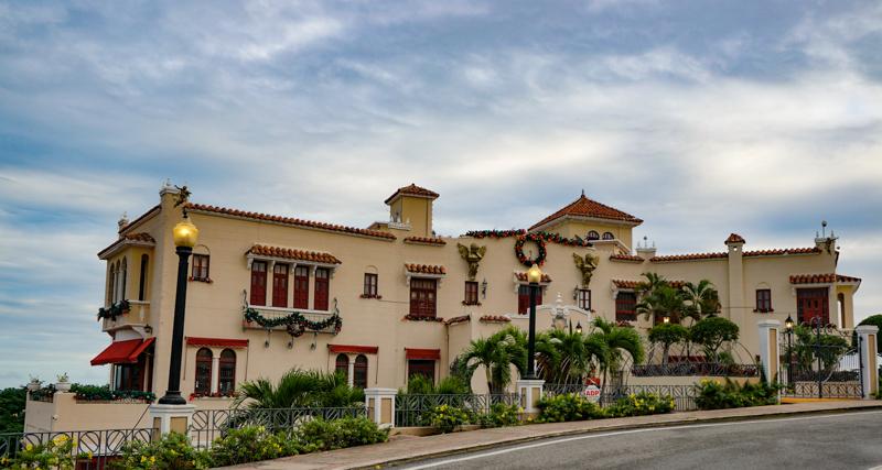 Museo Castillo Serralles in Ponce Puerto Rico