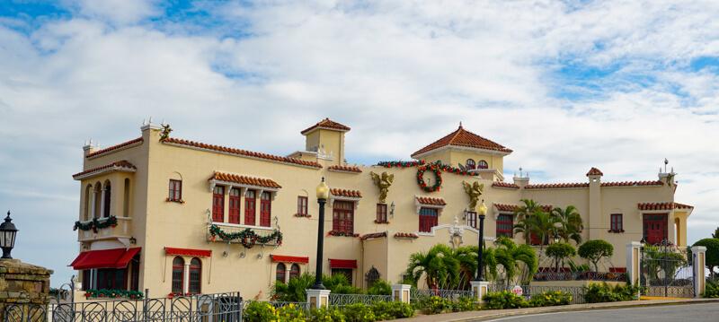 Museo Castillo de Serrales Ponce Puerto Rico