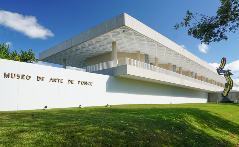 Museum of Art in Ponce Puerto Rico