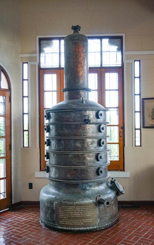 Old Equipment Castillo Serralles Ponce PR