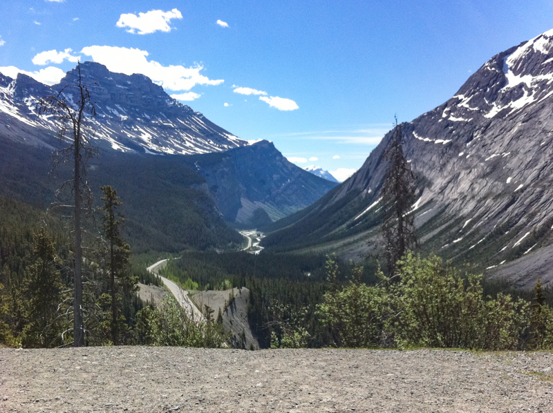 Parker Ridge Icefields Parkway Canada