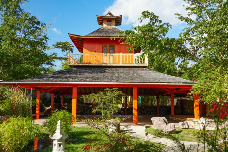 Pavilion Japanese Garden Ponce Puerto Rico