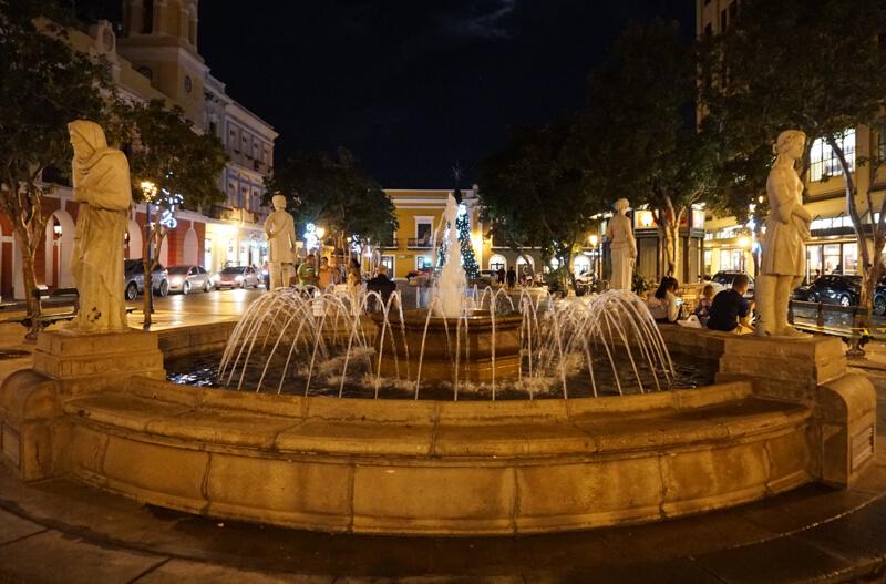 Plaza de Armas San Juan Puerto Rico