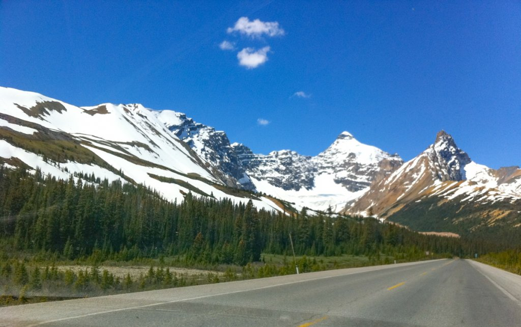 Points of Interest along the Icefields Parkway Canada