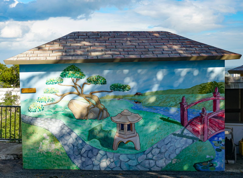 Pretty art in Ponce Puerto Rico