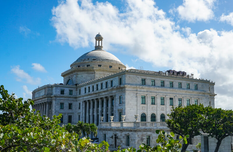 Puerto Rican Capitol San Juan