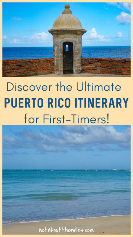 Discover the perfect itinerary for your first visit to Puerto Rico! From San Juan to Ponce and incon, discover the best of the Caribbean island!
