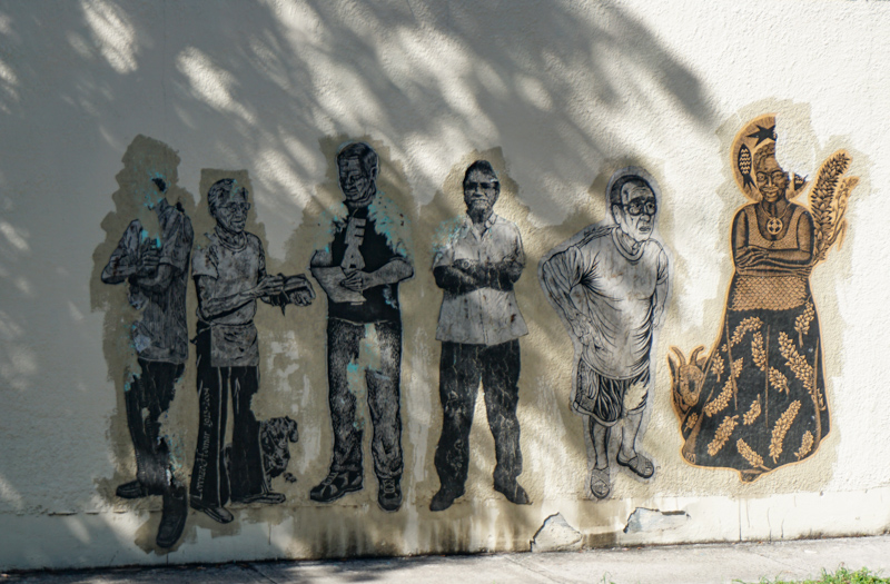 Street art in Ponce