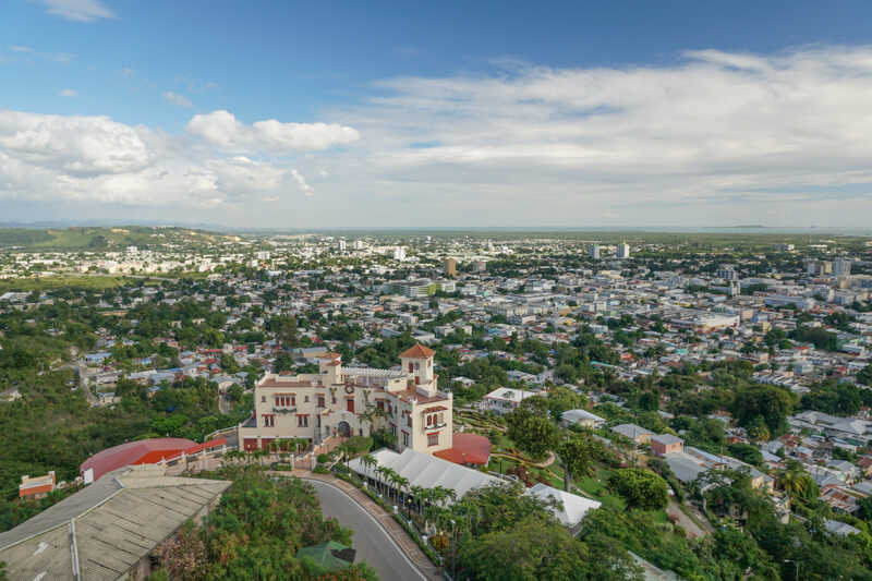 A View from the Watchman's Tower Ponce Puerto Rico