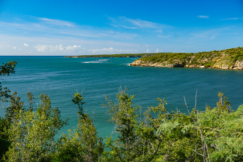 Water views at Guanica in Southern Puerto Rico