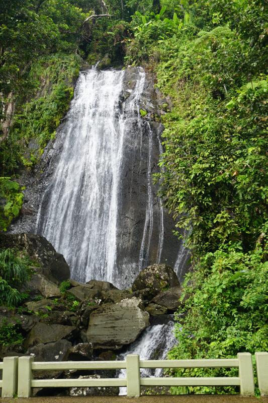 Waterfalls El Yunque Puerto Rico