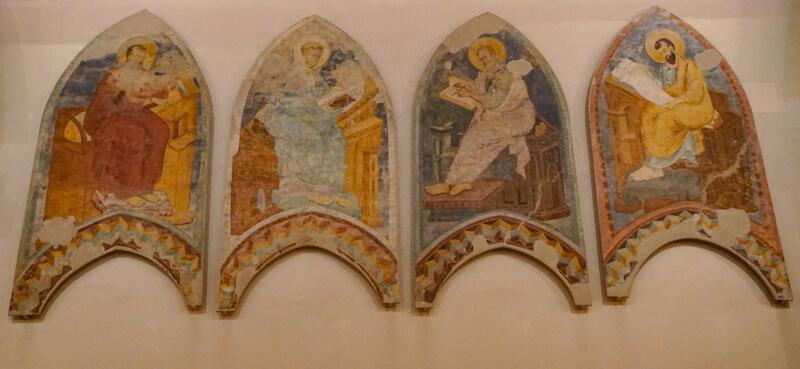 A Panel of Murals National Gallery Ferrara Italy