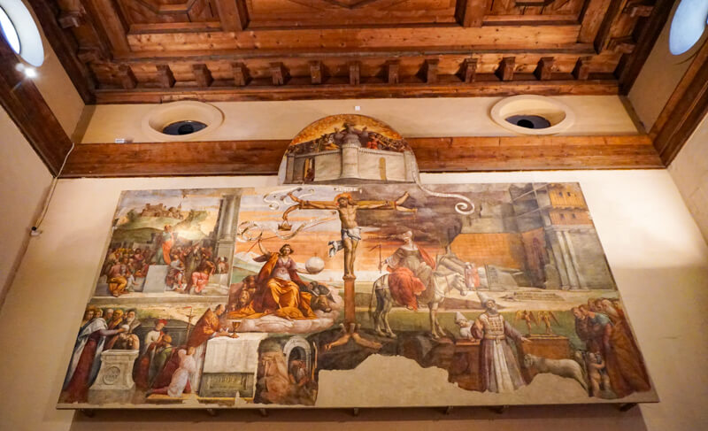 Art in the Pinacoteca Nazionale Ferrara Italy