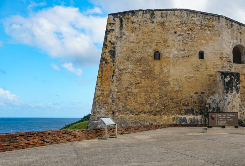 Castillo San Cristobal National Historic Site San Juan Puerto Rico