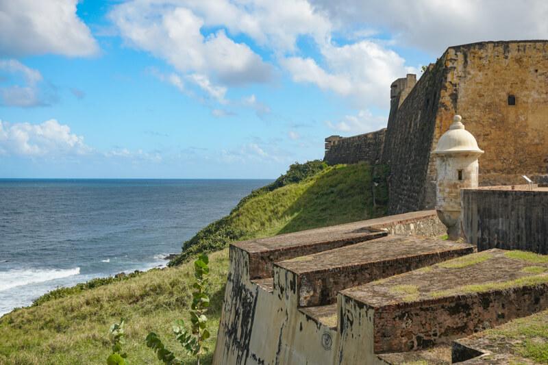 Castillo San Cristobal in Old San Juan Puerto Rico