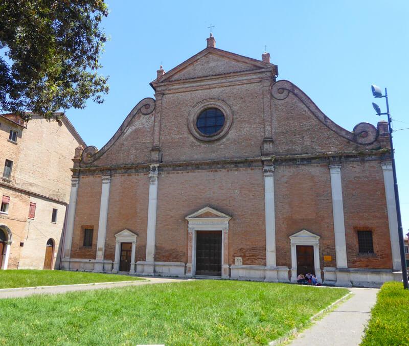 Chiesa di San Francesco Ferrar Italy